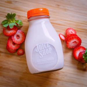 Wholesale Square 500ml 16oz juice smoothie glass bottle leak-proof cap