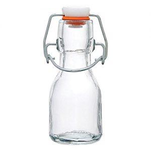 Amazon hotsale 60ml swing top glass bottle for candy honey