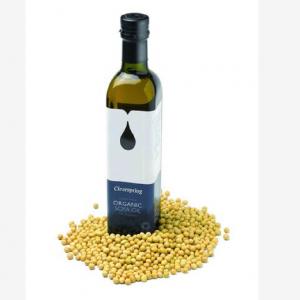 Custom label sticker 250ml green square olive oil glass bottle leak-proof
