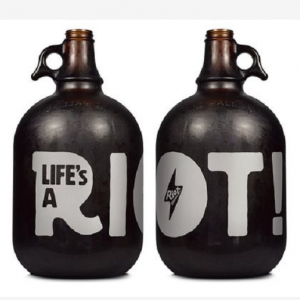 2L 4L beer growler 64oz 128oz beer glass bottle custom printings