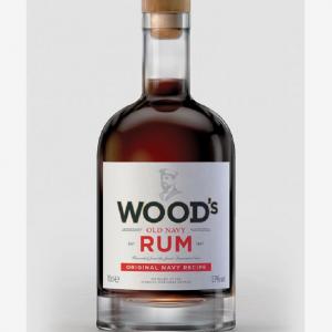 Stocked 700ml vodka Gin liquor glass bottle with cork custom label