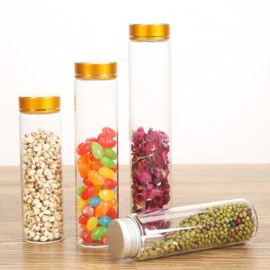 Wholesaler 30ml tube glass pill capsule bottle custom label