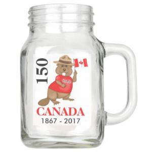Wholesale 600ml mason glass juice milk jar with handle