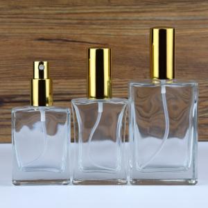 Pump spray glass perfume bottle 30ml 50ml 100ml