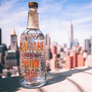 Custom unique glass bottle
