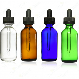 Amber 30ml glass oil bottle with dropper