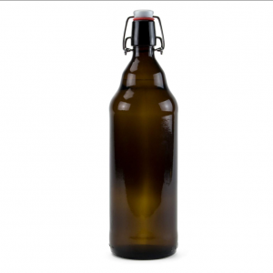 1L craft beer glass bottle swing top