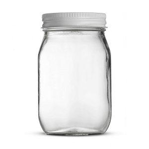 16oz mason glass jar storage glass jar
