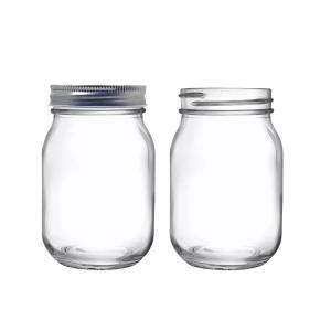 16oz mason glass jar with printing