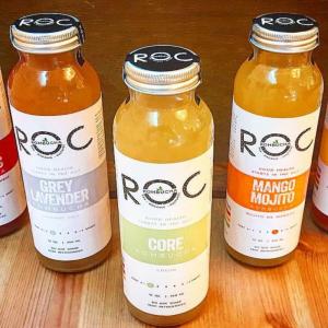 Boston round juice glass bottle custom label