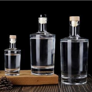 500ml glass bottle for Gin liquor