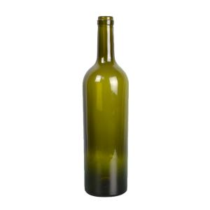750ml wine glass bottle