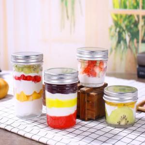 Mini 100ml mason glass jar for jam honey