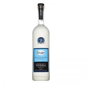 700ml frosted Vodka glass bottle