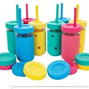 Food grade eco friendly plastic caps for mason glass jar