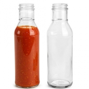 Amazon popular hot sauce chilli paste glass bottle custom label